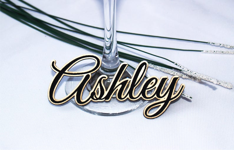 Wedding table names Wedding table place Guest names Place image 1
