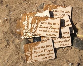 Save the date, Save the date rustic, Save the date magnet, Wood save the date, Wedding magnets, Save the date magnet rustic, Wedding favors