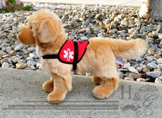 Plush Service Dog Many Breeds Available German Shepherd Etsy