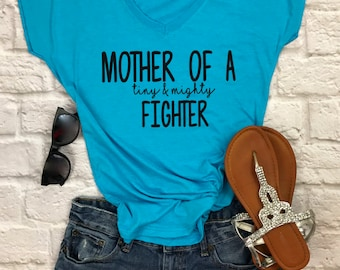 9cb1c2eed mother of a tiny and mighty fighter shirt- nicu mom shirt- preemie mom  shirt- preemie strong shirt- nicu mom tshirt- nicu shirt- preemie mom