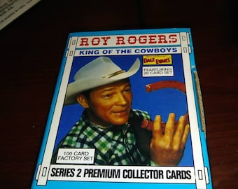 Roy Rogers  King  Of The Cowboys Limited Edition Comic  Cover  Collector Card SET 2