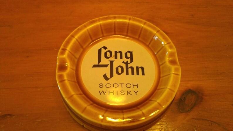 Rare Vintage Long John Scotch Whisky Pub Ashtray **
