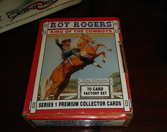 Roy  Rogers  King  of  The Cowboys Limited Edition Comic  Cover  COLLECTOR CARD SET 1