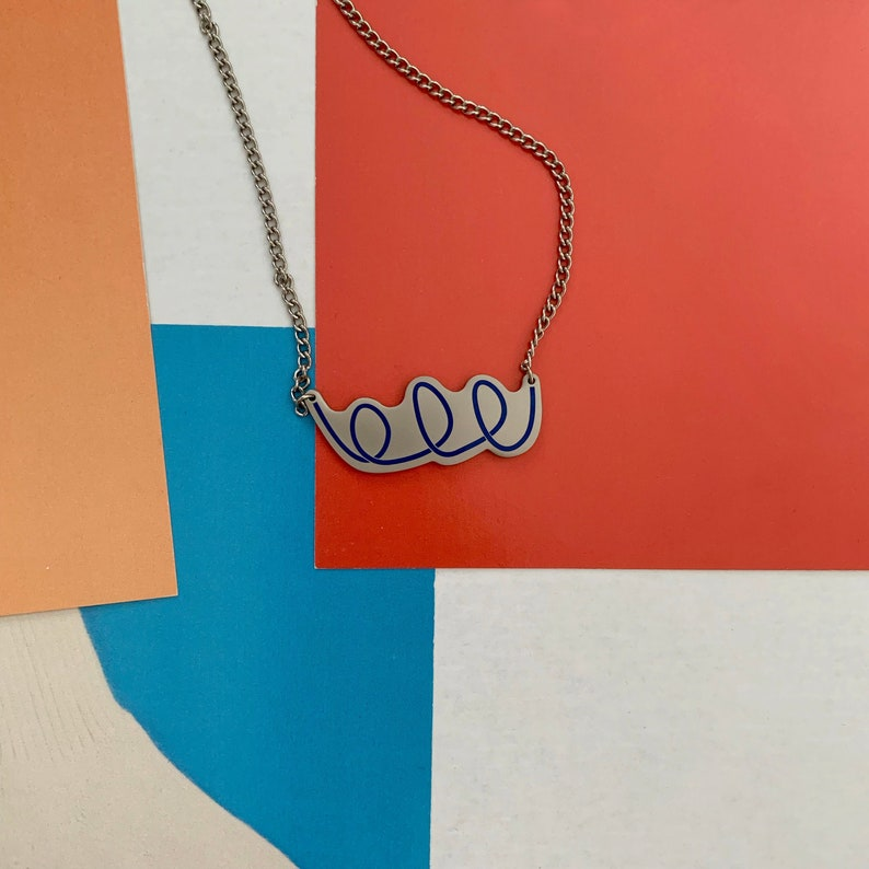 Scribble Necklace image 0