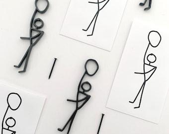 Hangman – Metal Sculpture Wall Hanging Edition of 50