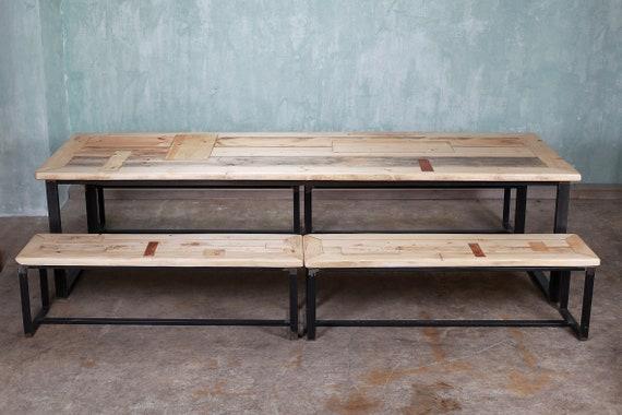 Bank 3 Meter.Dining Table Christiaan 3 Meters 4 X Bank Rachel