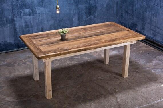 Bauholz Tisch Vintage Stil Jasmijn 180x90cm Etsy
