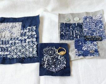 Sashiko Patch, Boro Patch, Japanese Fabric Patch, Artisan Handmade, Mending Patches, Sashiko Embroidery, Visible Mending, Boho Hippie Gypsy