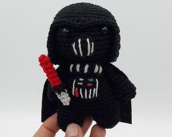 Darth Vader amigurumi doll - CROCHET | 270x340