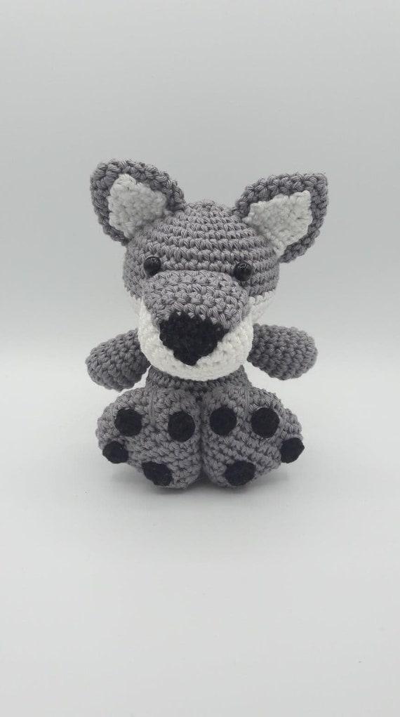 Amigurumi Wolf Pattern Crochet Wolf Pattern Will The Etsy