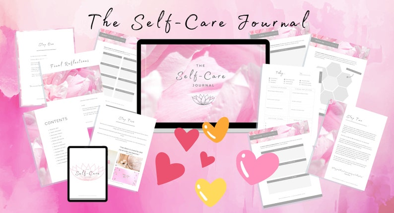 The Undated Self-Care Journal image 0