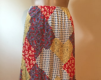 80's does 70's hippie skirt by Carol Anderson.