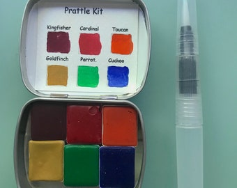 6 pan watercolor kits