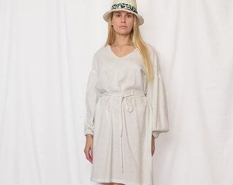 boho white linen dress, linen dress woman, dresses for women, linen dress free shipping, women linen dress sale 40%, linen womens clothing
