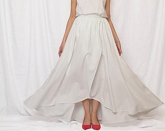 linen skirt women sale, long linen skirt, beach wedding skirt, linen skirt sale 40%, full skirt, maxi skirt, linen skirt free shipping
