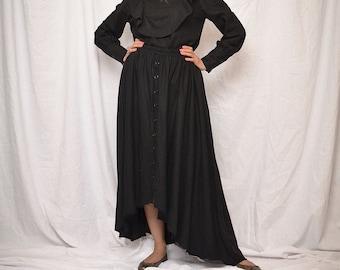women linen skirt sale 40%, long linen skirt, raw hem skirt, black long skirt, full long skirt, linen skirt women, linen skirt free shipping