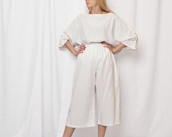 linen boho pants, clothing free shipping, white linen pants, linen women clothing, minimalist clothing,  women linen dress sale 25%, linen