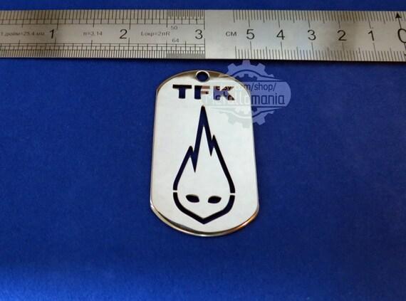 Thousand Foot Krutch Tfk Necklace Jewelry Jewellery Logo Steel Etsy