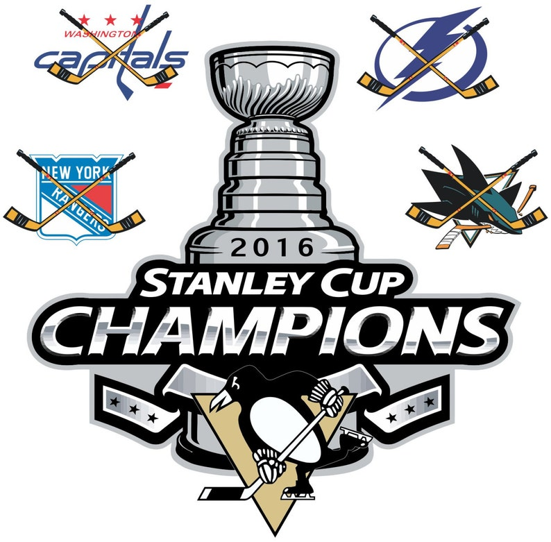 size 40 7aeed 6d4fc Pittsburgh Penguins 2016 Stanley Cup Champions NHL Decal/Sticker