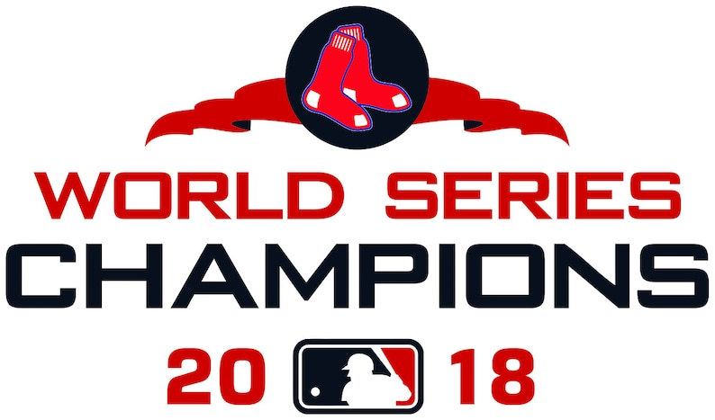 0055b4597 Boston Red Sox World Series Champions 2018 MLB Decal/Sticker | Etsy