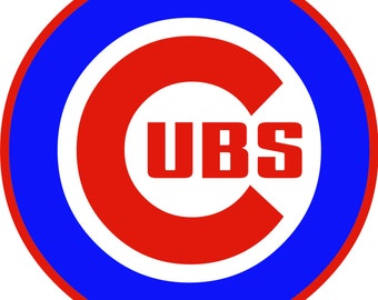 Chicago Cubs  Decal/Sticker