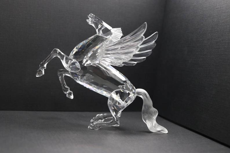 e69ac21c1460f RETIRED Swarovski Pegasus Crystal Figurine - Fabulous Creatures Annual  Edition