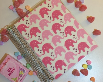 Elephant Planner Cover for Erin Condren or Recollections Planners