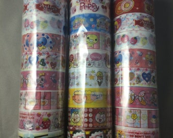 Cartoon Washi 10pc Set