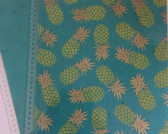 Pineapple Planner Cover for Erin Condren or Recollections Planners
