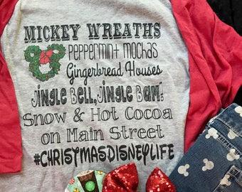 Disney Christmas Shirt, Disney Family Christmas, Mickey Christmas, Disney World Christmas, Disneyland Christmas Shirt