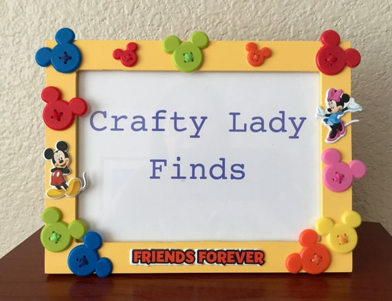 Mickey Minnie Frame Etsy