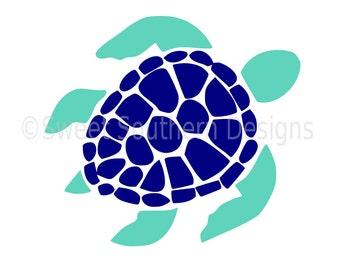 Sea turtle SVG instant download design for cricut or silhouette