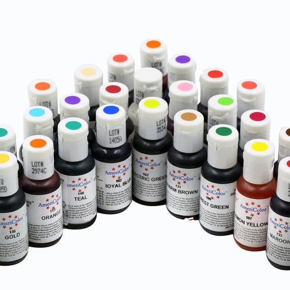 Americolor Gel Paste Color-Gel Colors-Food Color-Candy Color-Candy ...