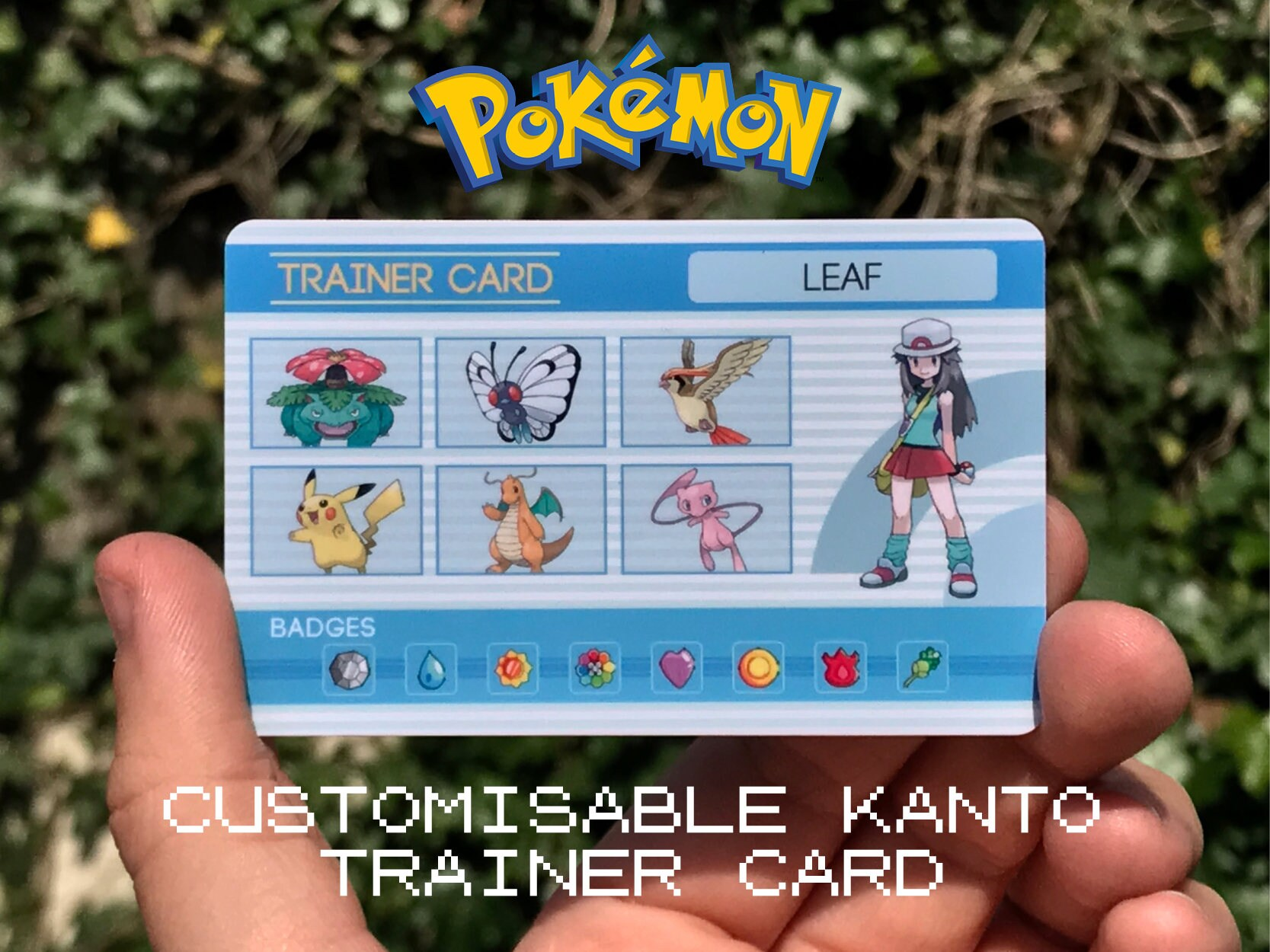 Make Your Trainer Card