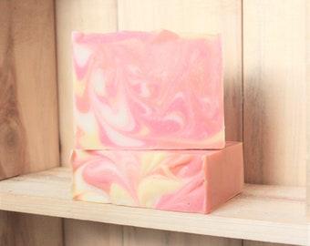 Citrus Sunburst fragranced artisan soap