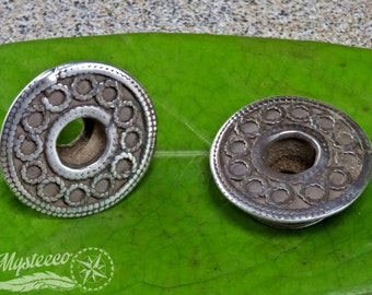 """Ear Plugs Eyelets - Authentic Tribal Ear Plugs - Eyelets - 3/4"""" - 1 Pair - Vintage Ear Plugs - Pokhani Ear Plugs - Ethnic Ear Plugs"""