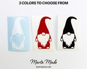 Tomte Decal Sticker Vinyl Decal Nisse Sticker Gift Gnome Nordic Swedish tomte Designs