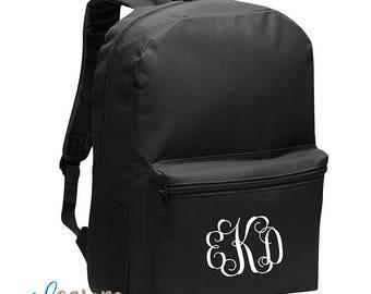 Customized Backpack   Back to School   School Kids Bag   Monogram   Custom  Backpack   Boy Backpack   Girl Backpack   First Day of School ed3bc61b45