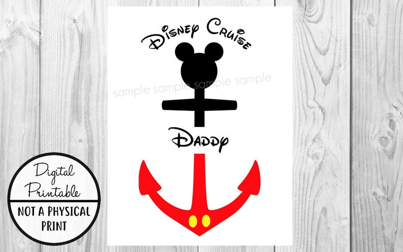 graphic about Mickey Anchor Printable named Mickey Mouse Iron Upon Disney Go - Disney Cruise Holiday vacation Mickey Mouse thoughts Anchor - blouse tshirt printable - Quick Obtain - Daddy