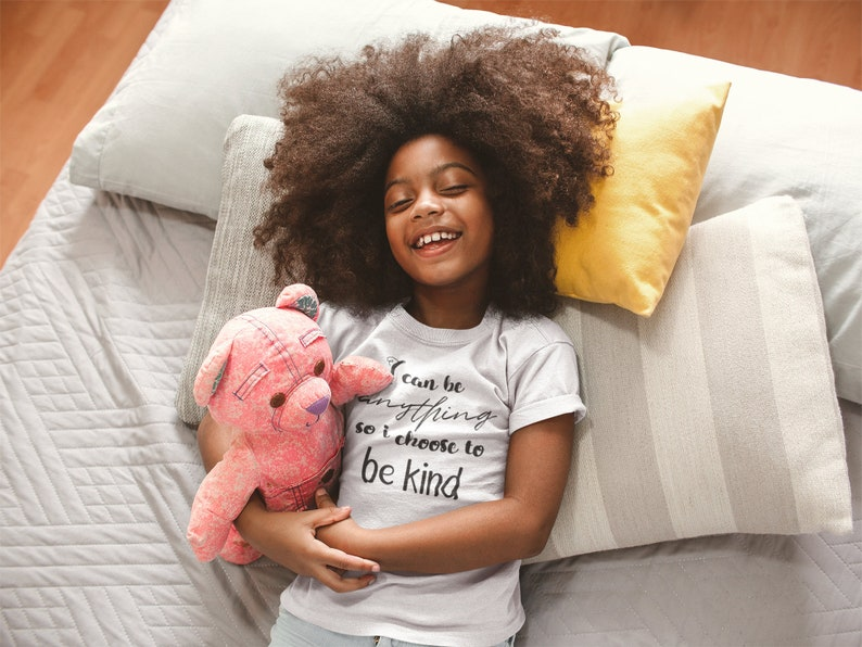 Kids Kindness Shirt Be Kind Toddler Empowering Shirt Gender image 0