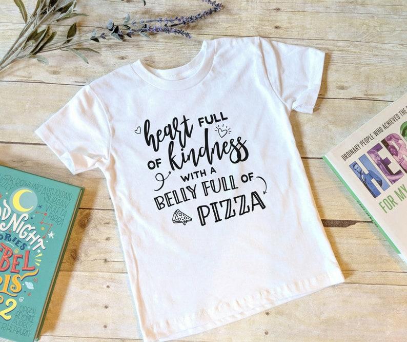 Kids Kindness Shirt Gender Neutral Shirt Hipster Shirt image 0
