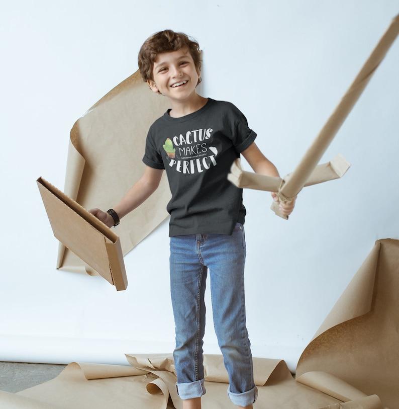 Cactus Makes Perfect Kids Shirt Hipster Kids Shirt Hipster image 0