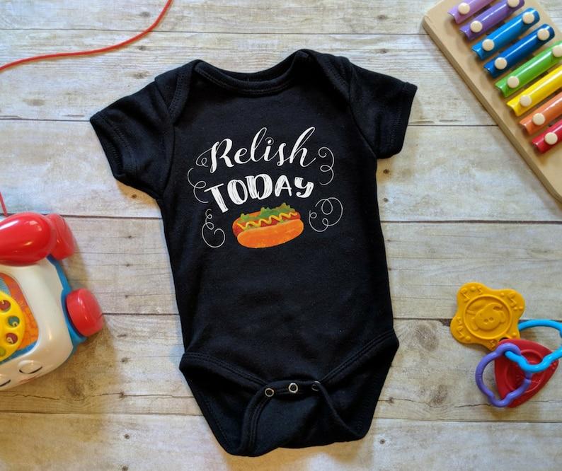 Relish Today Positive Baby Onesie® Carpe Diem Shirt image 0