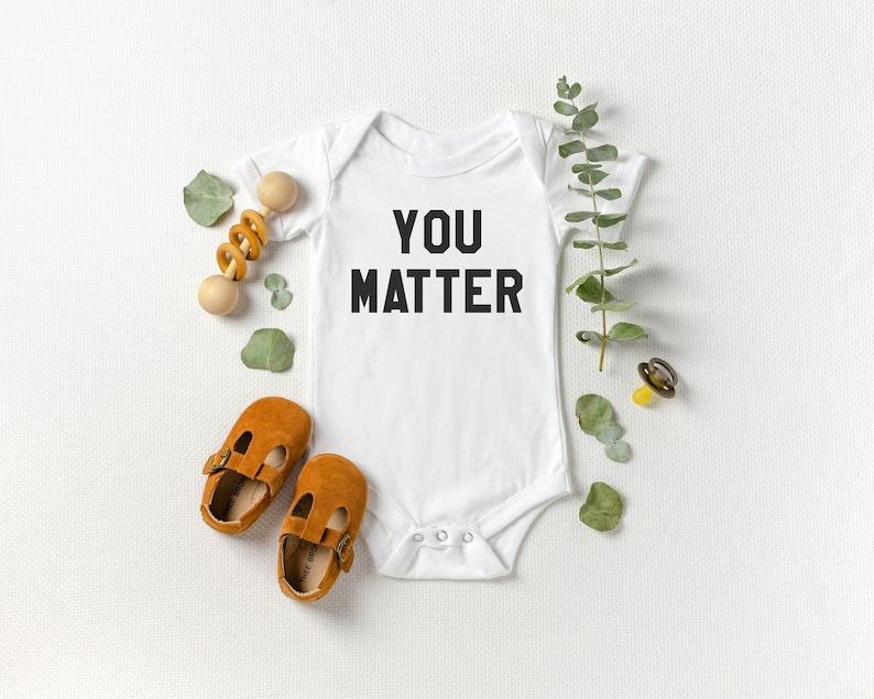 You Matter Onesie® Hipster Onesie® Kindness Onesie® Hipster image 0