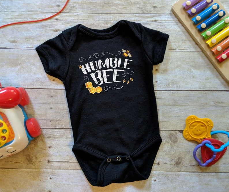 Humble Bee Onesie® Kindness Onesie® Positive Kids Shirt Be image 0