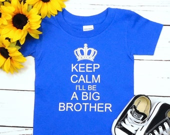 0c6cd0faea13f Big Brother Shirt, Pregnancy Baby Announcement Shirt Grandparents Husband,  CUSTOM Text, MORE COLORS!