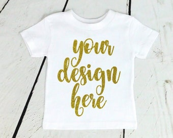 23a7a0c4d Kids Custom Shirt / Custom Child TShirt / Custom Kids Shirt / White Toddler  Shirt / Custom Shirt / Toddler Shirt / Custom White Shirt