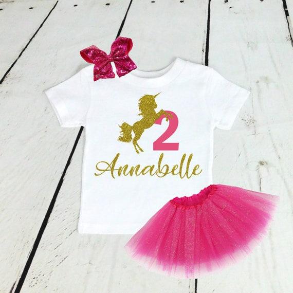 Personalizado De Mi 1st Cumpleaños estoy Niñas Camiseta Tutu Traje de brillo 12-18 meses
