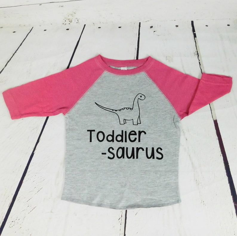c7919b027b1 Toddler Dinosaur Shirt Toddlersaurus Shirt Sistersaurus