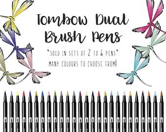 Brush pens etsy